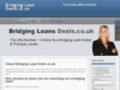 Détails : Rapid Products For bridging loans Across The USA